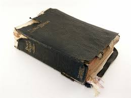 tattered bible